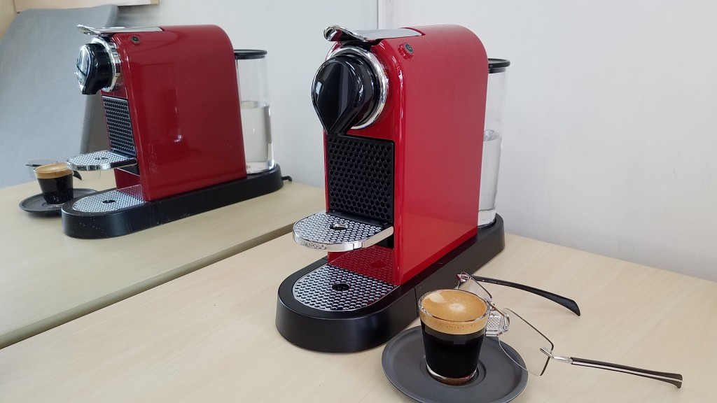 Why not have a shot of Nespresso?